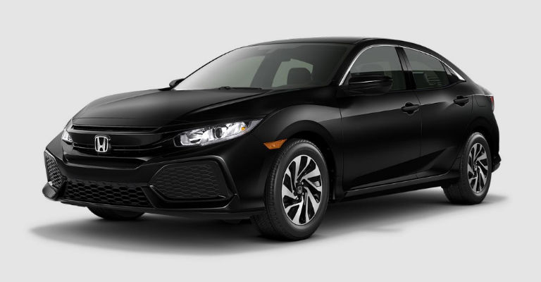 2017 honda civic hatchback exterior colors for All black honda civic
