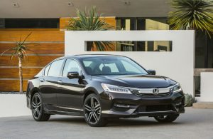2017 Honda Accord black front