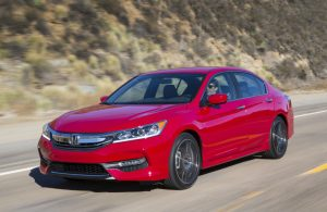2017 Honda Accord red