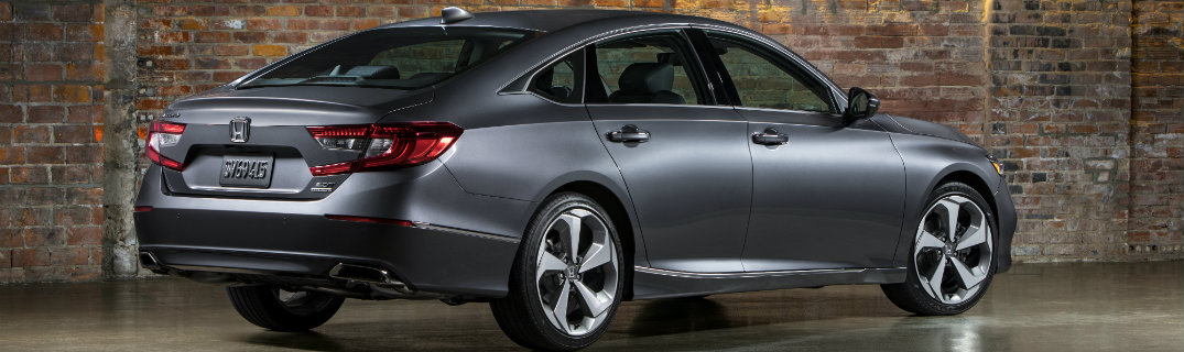 2018 Honda Accord side silver