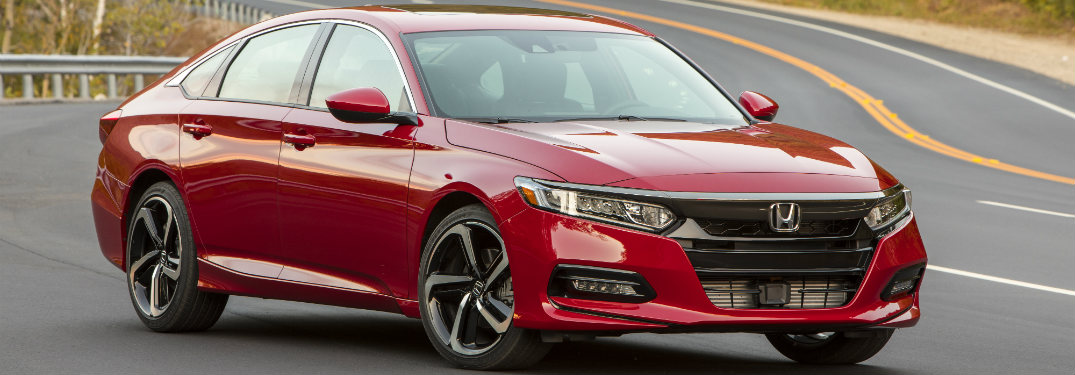 2018 Honda Accord Trim Levels and Features