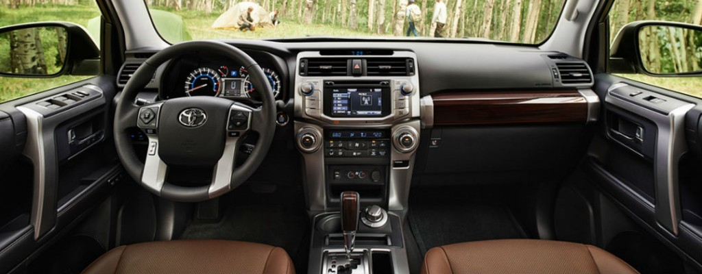2016 toyota 4runner vs 2016 honda pilot 2017 toyota 4runner limited interior