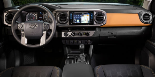 2016 Toyota Tacoma SR5 Interior Dashboard And Toyota Entune