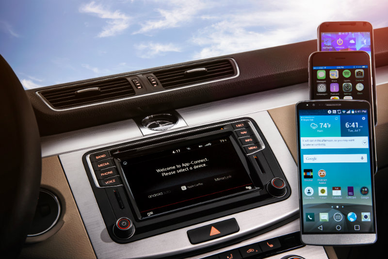 What is the Volkswagen MIB II system and App-Connect?