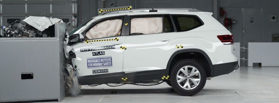 2018 Volkswagen Atlas Meets IIHS Safety Tests