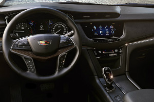 Standard Features in the 2017 Cadillac XT5