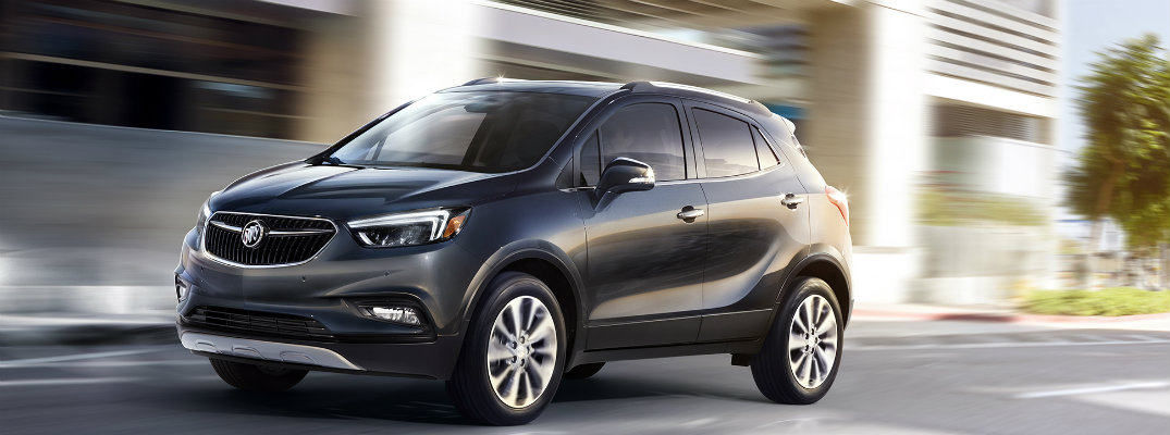 Standard interior tech features of the 2017 Buick Encore