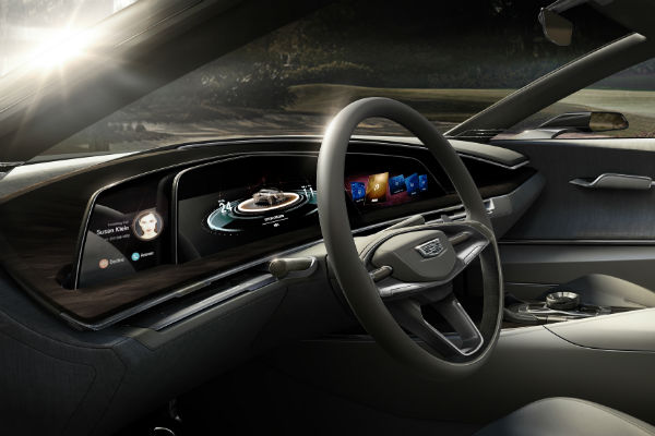 first look at the new cadillac escala concept. Black Bedroom Furniture Sets. Home Design Ideas