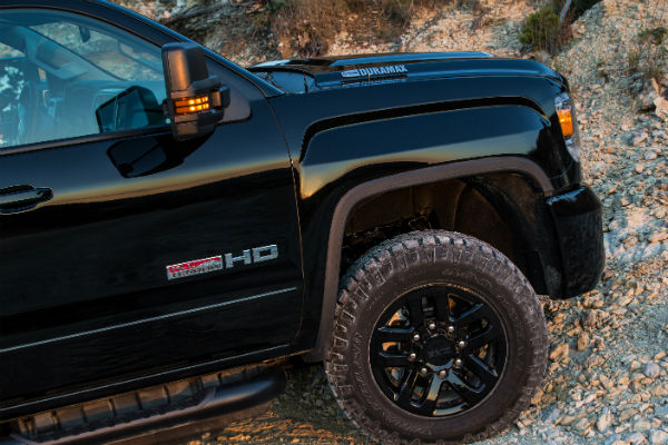 What other models have the All Terrain X Package?