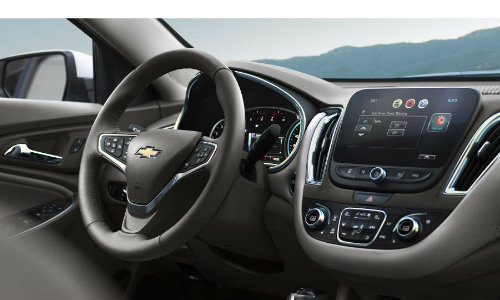 2017 Chevrolet Malibu available interior features