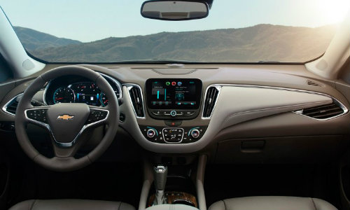 2017 Chevrolet Malibu safety features