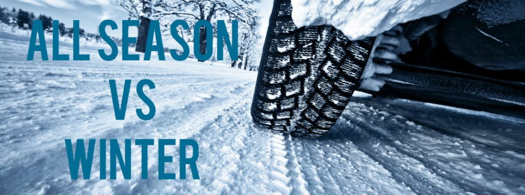 differences between all season tires vs winter tires. Black Bedroom Furniture Sets. Home Design Ideas