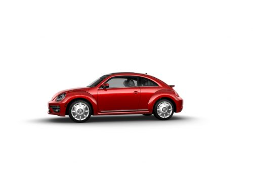 What are the colors available on the 2018 Volkswagen Beetle?