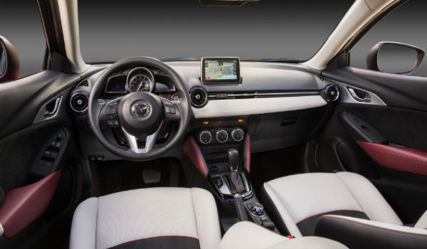 2017 Mazda CX-3 interior options
