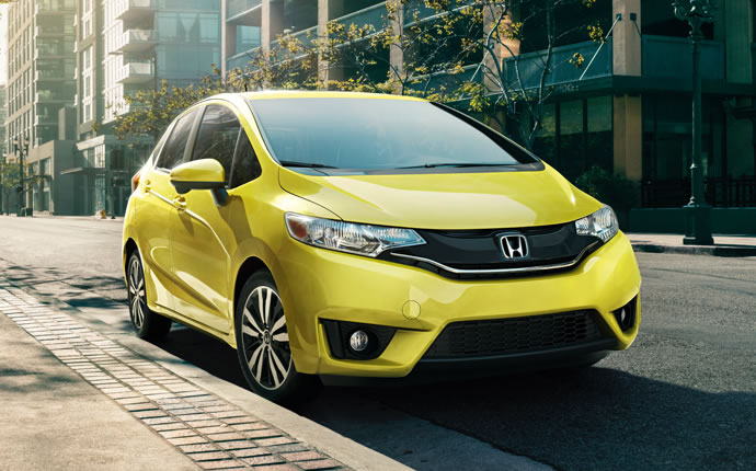 The Stylish 2015 Honda Fit Hatchback