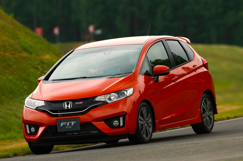 The Redesigned 2015 Honda Fit