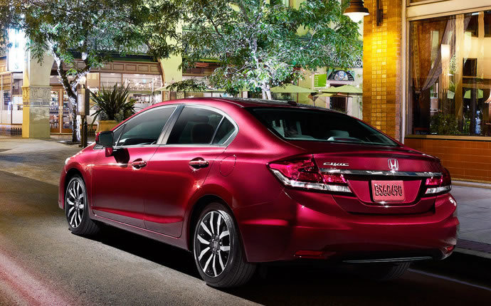 The 2015 Honda Civic Sedan