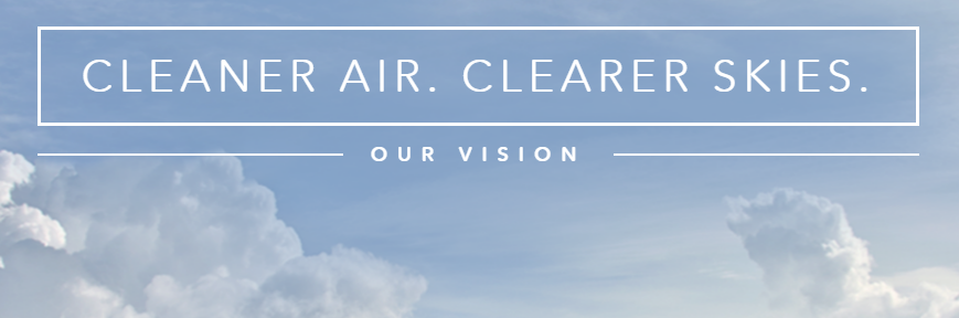 Cleaner Air. Clearer Skies.