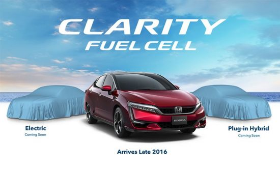 Honda Takes Bold Step with Honda Clarity Series