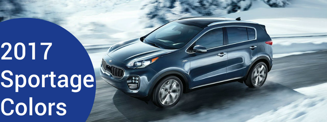 2017 Kia Sportage Color Options