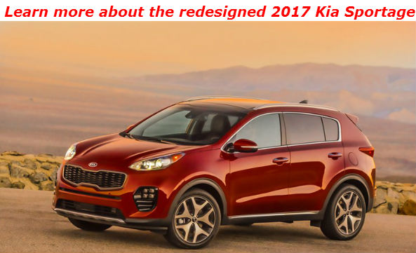 learn more about the redesigned 2017 kia sportage_o