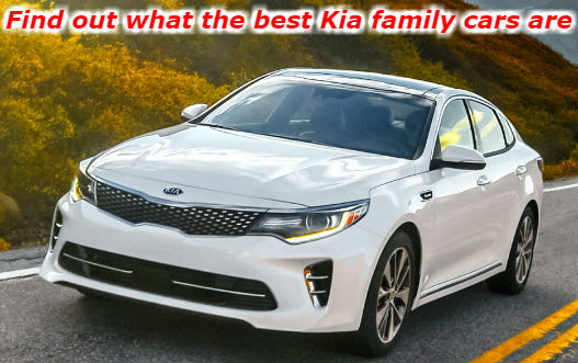find out what the best Kia family cars are