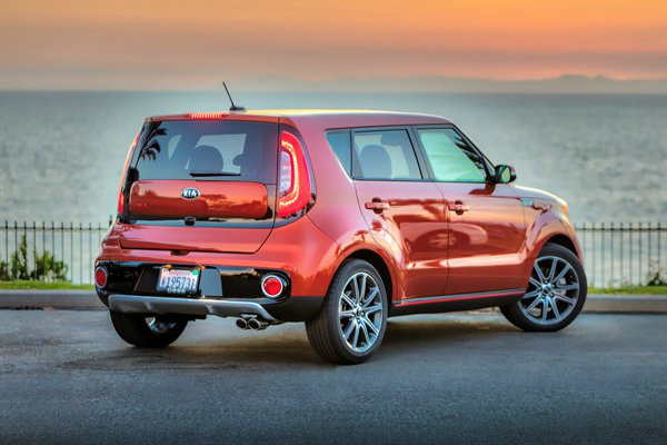 2017 Kia Soul Chrome Tip Dual Exhaust