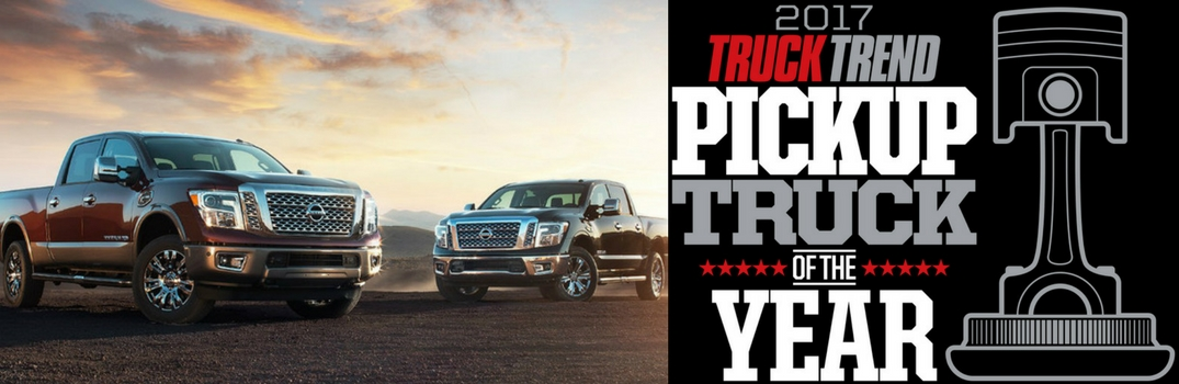 2017 Nissan TITAN Wins TRUCK TREND Network's 2017 Truck of the Year