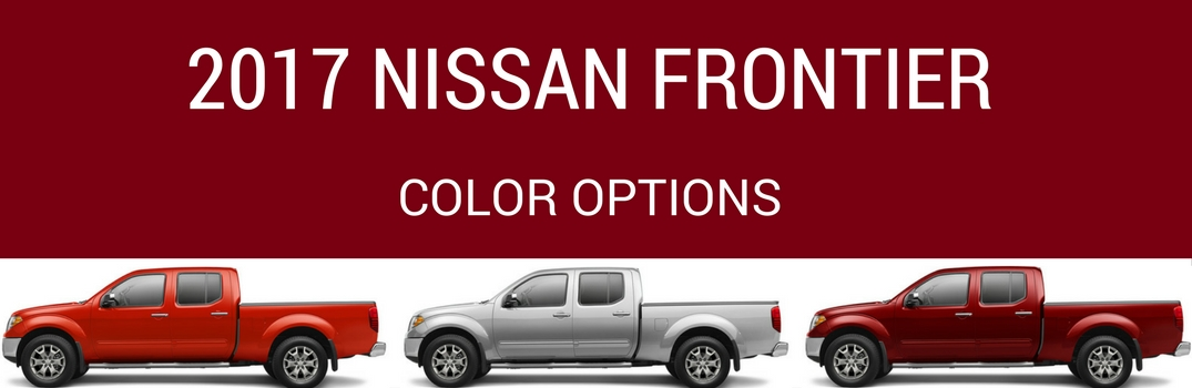 2017 Nissan Frontier Color Options