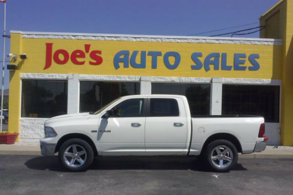 Used Dodge RAM available at Joe's Auto Sales