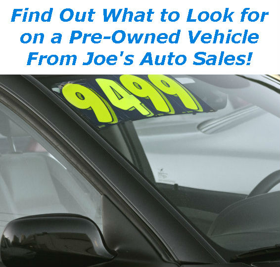 link to blog post about what to look for on a used vehicle