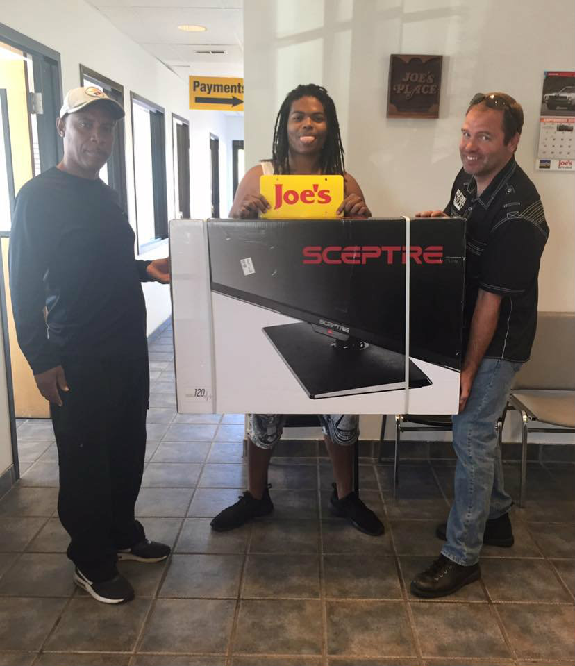 Our August TV Giveaway Winner