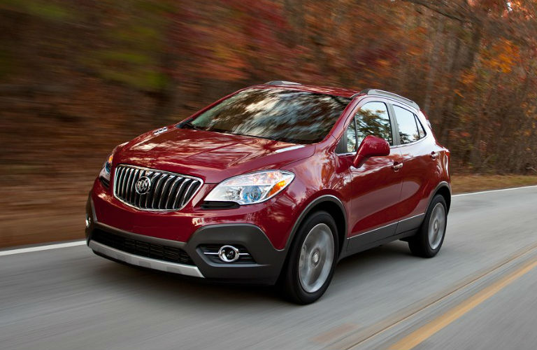 Reliable Red Buick Encore
