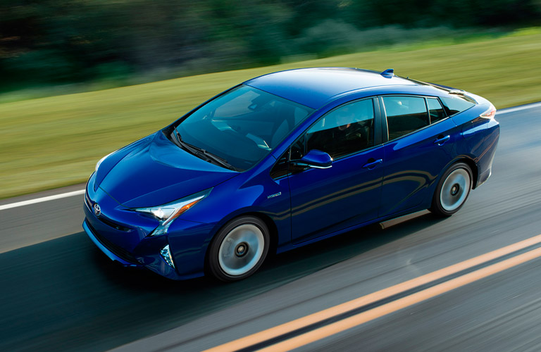 Reliable Blue Toyota Prius