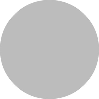 Light gray circle for summertime vehicle condensation