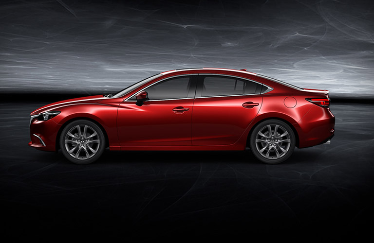 2016 mazda6 exterior red side view