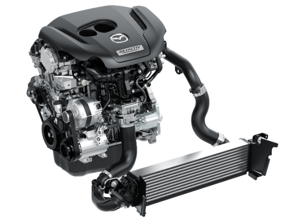 mazda cx-9 turbocharged SKYACTIV®-G 2.5T engine