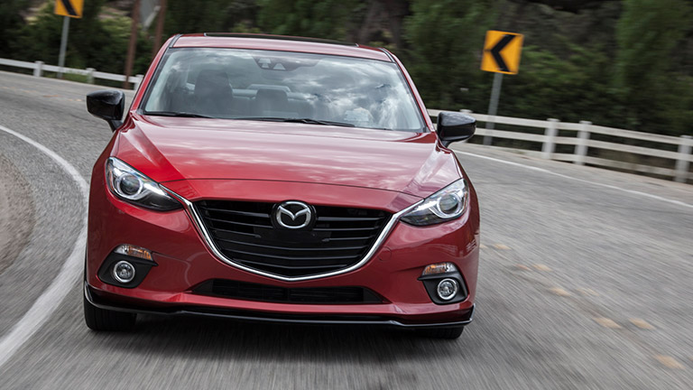 2016 mazda3 exterior red front grille