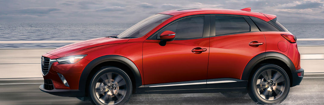 How Much Cargo Space Does The 2017 Mazda Cx 3 Have
