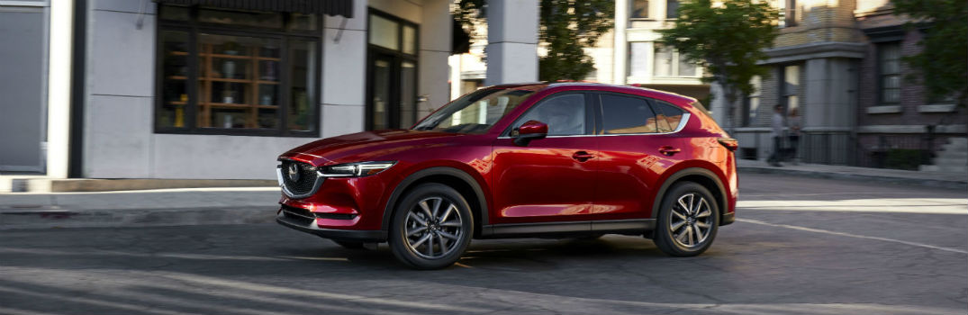 Active Safety Features in the 2017 Mazda CX-5