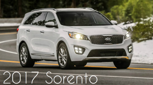 2017 Kia Sorento Towing Capacity