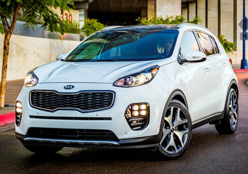 2017 Sportage Driving Distance