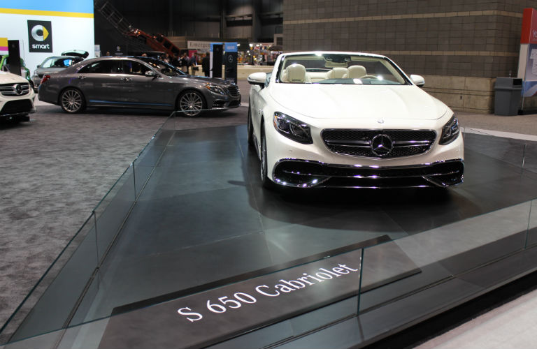 MercedesBenz Images From The Chicago Auto Show - Mercedes car show 2018