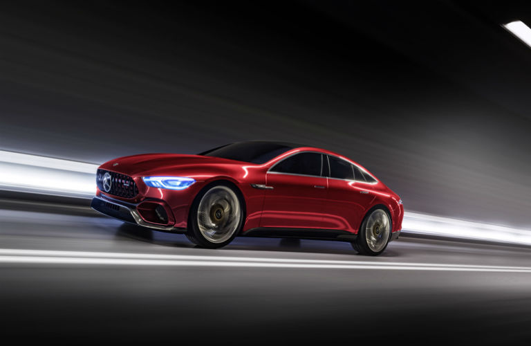 Mercedes benz at the 2017 new york auto show for Mercedes benz arrowhead