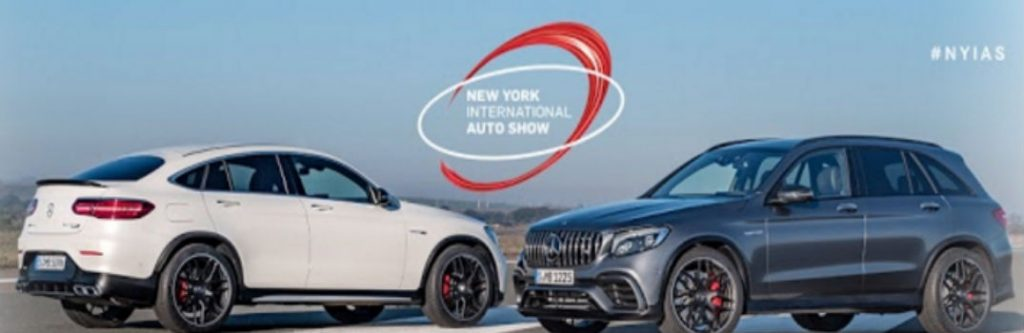 Mercedes benz at the 2017 new york auto show for Glendale mercedes benz service