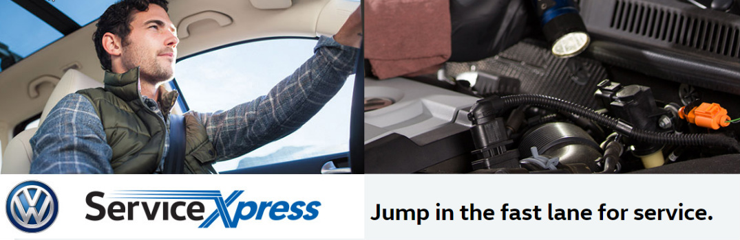 What is volkswagen service xpress for Compass motors middletown ny 10940