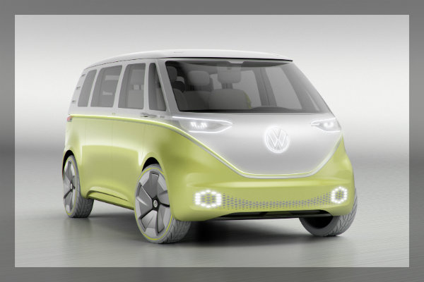 Volkswagen I.D. BUZZ concept vehicle