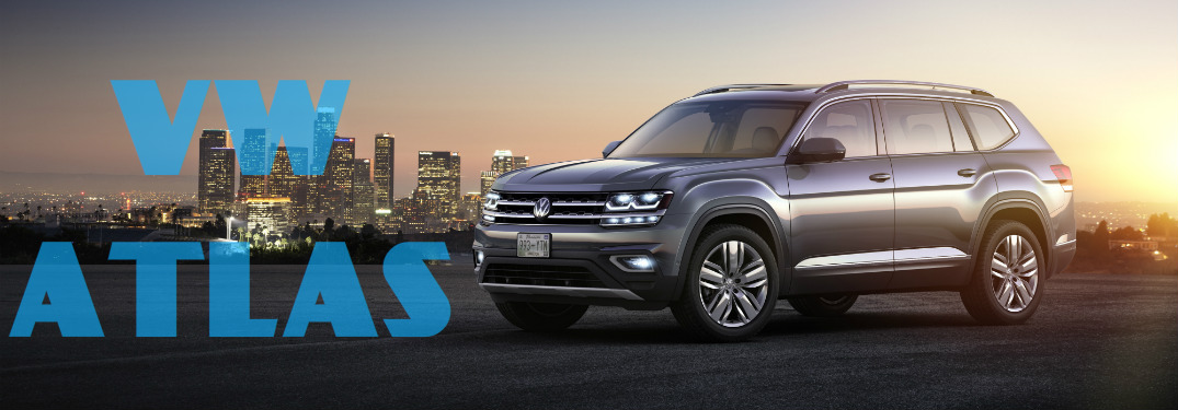 2018 VW Atlas Side View