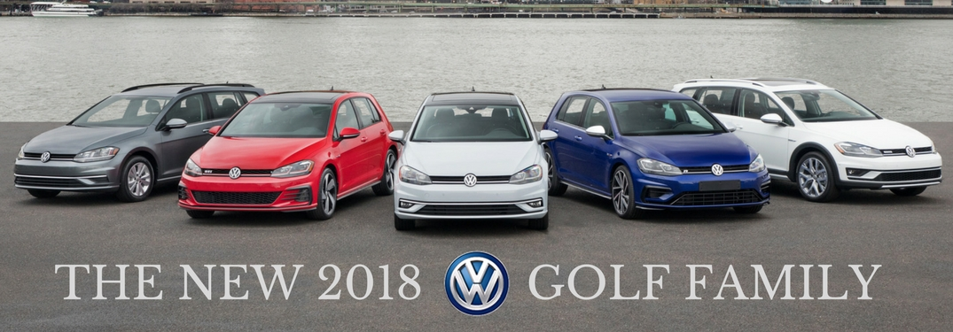 New Features for 2018 VW Golf Family