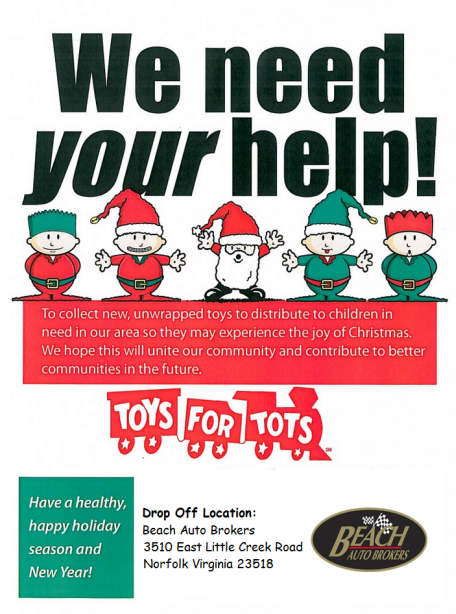 Organization For Toys For Tots Application Form : We re giving back help us toys for tots drop off